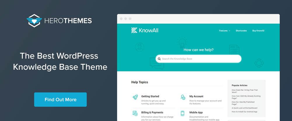 KnowAll Hero Themes