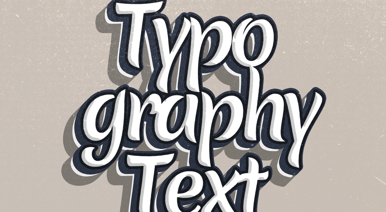 Freebie: Typography PSD Text Effect