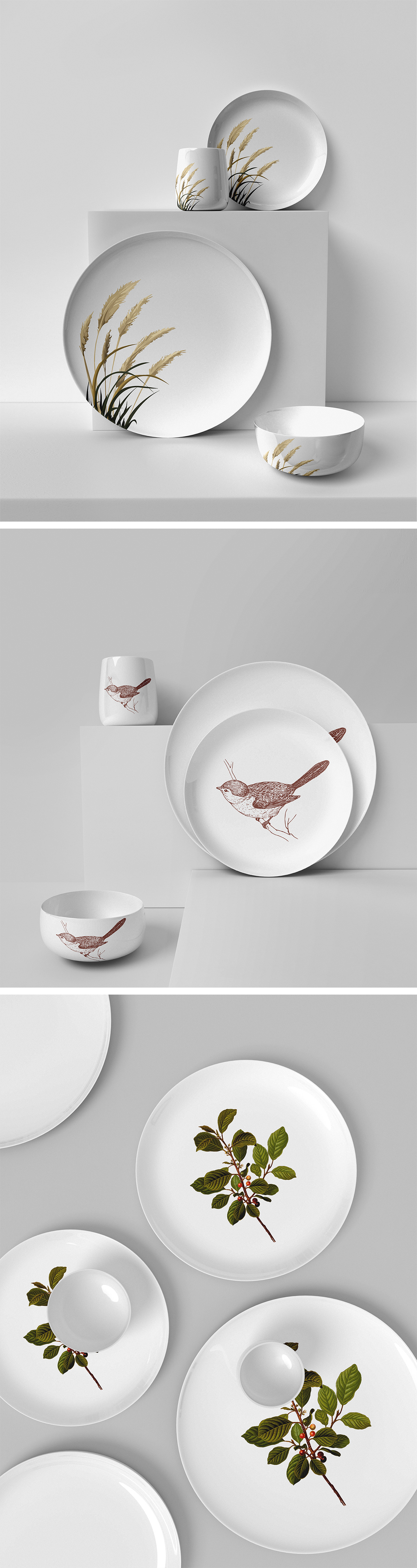 Kitchen Utensils Mockup