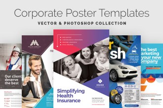 Corporate Poster Flyer Templates