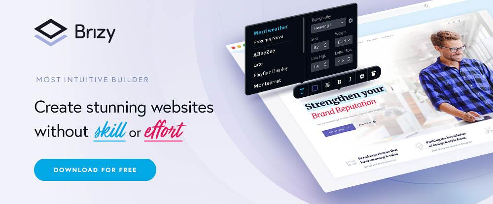 Brizy WP Website Builder