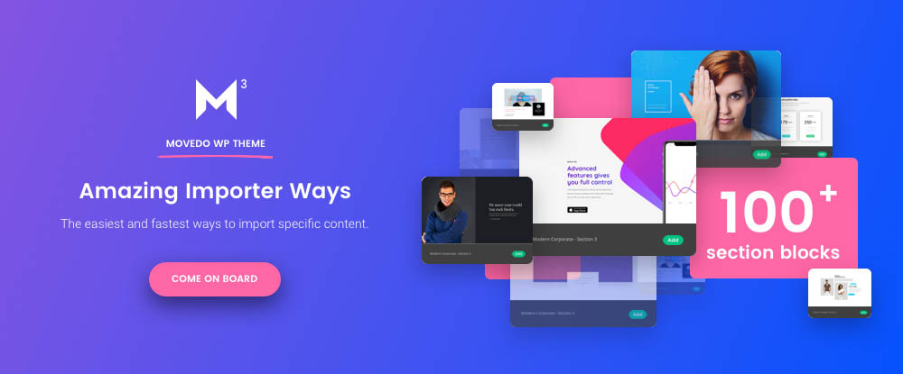 Movedo WP Theme