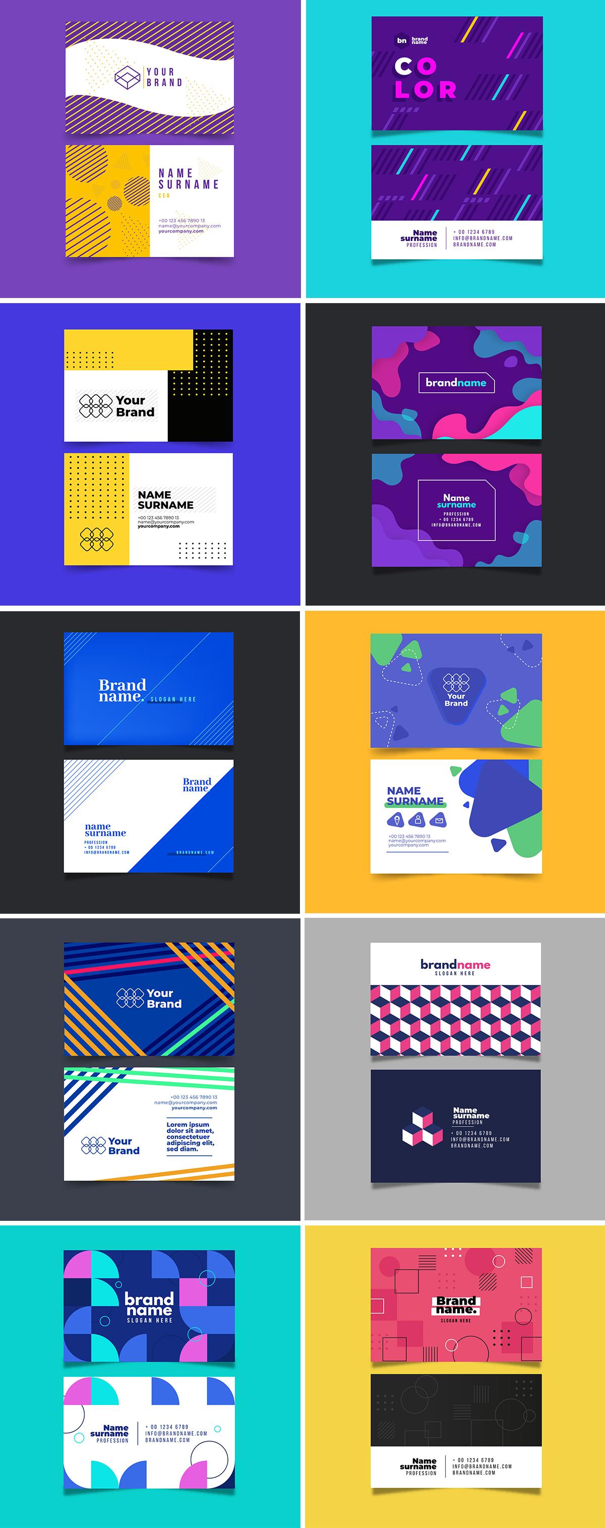 Vector Business Card Templates