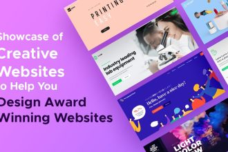 Tips and a Showcase of Creative Websites to Help You Design Award Winning Ones for Your Clients