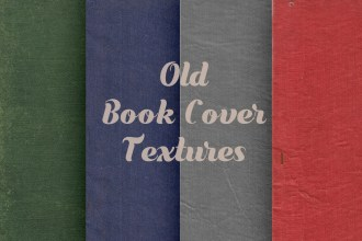 Old Cloth Book Cover Textures