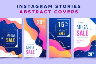 Instagram Stories Abstract Covers