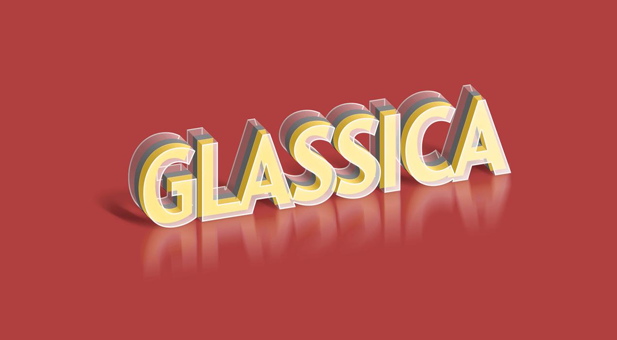 Glass PSD Text Effect