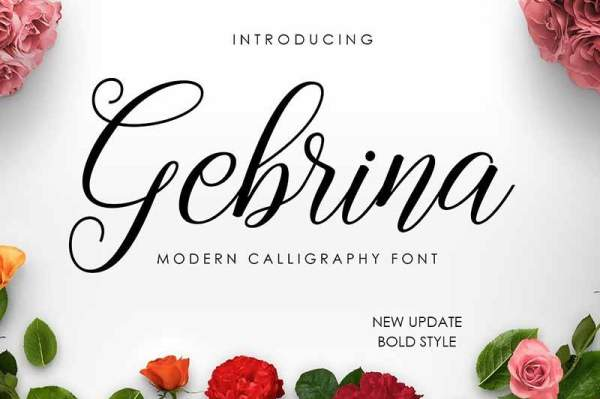 Gebrina-Script-Font-Free-download