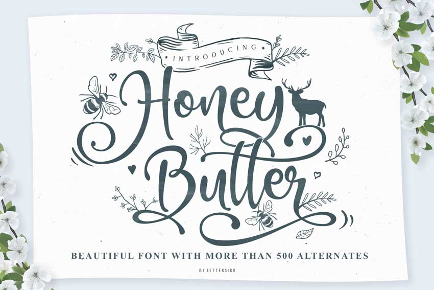 Honey-Butter-font