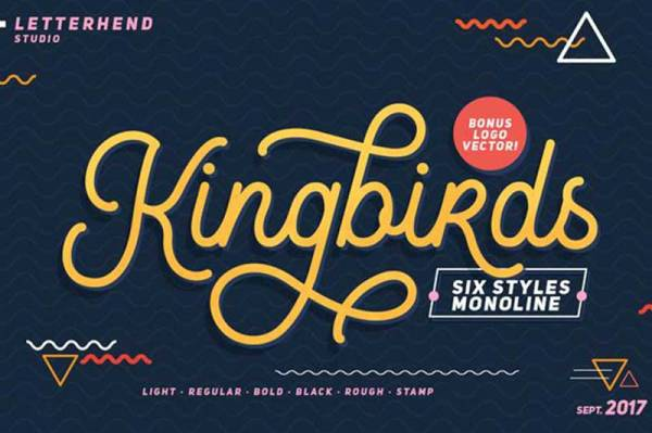 Kingbirds-Regular-free-font-download