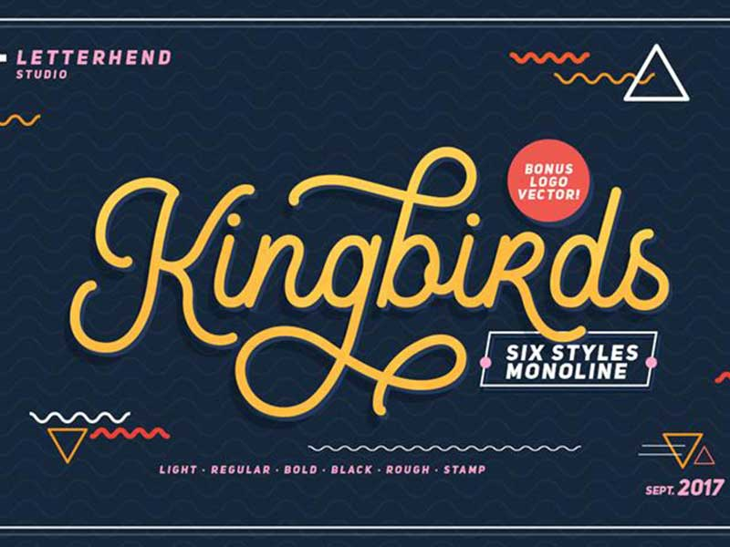 Kingbirds-Regular-free-font-download