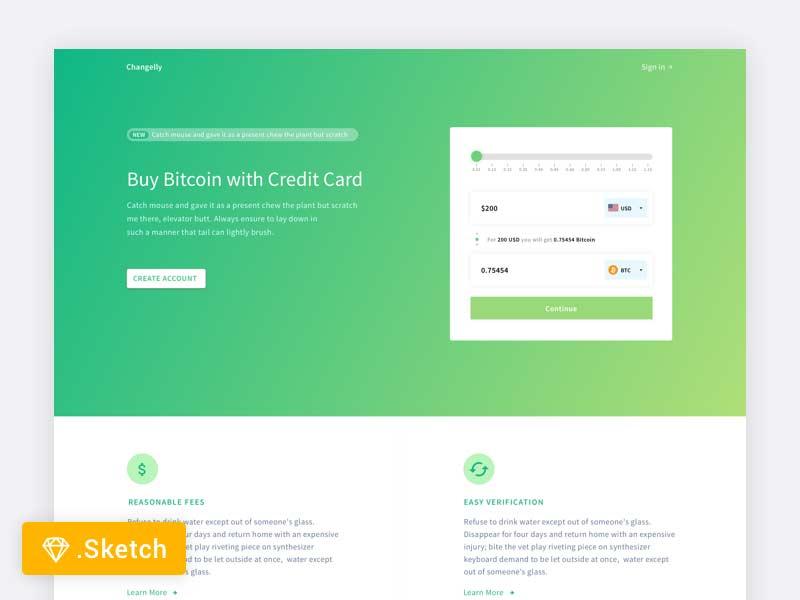 crypto-minimal-landing-page-design