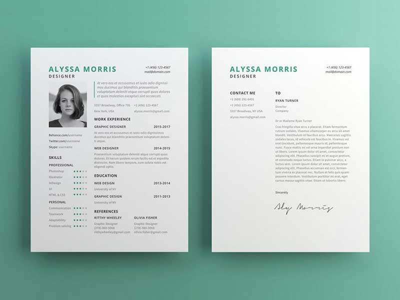 resume-template-psd-free-11