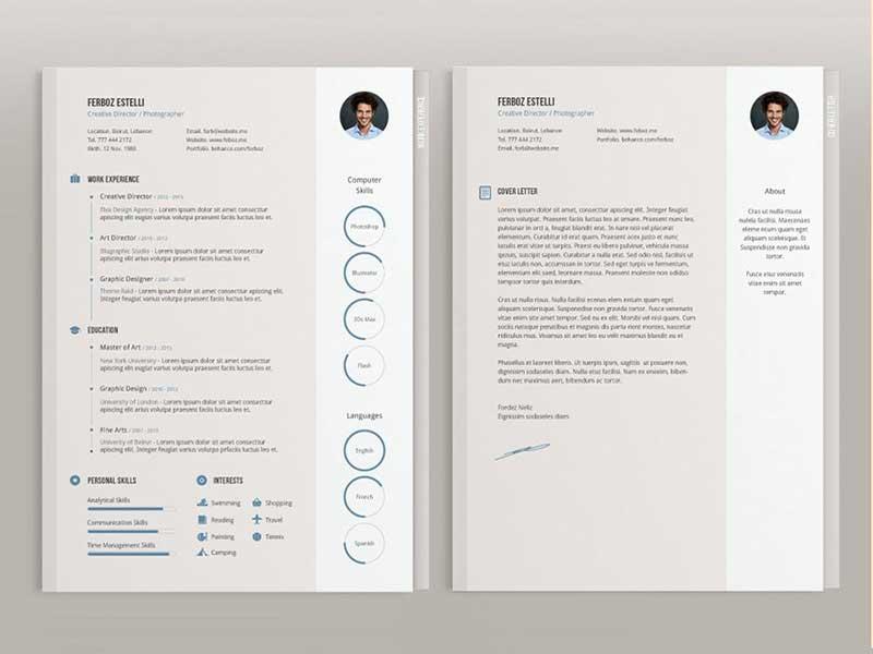 resume-template-psd-free-14