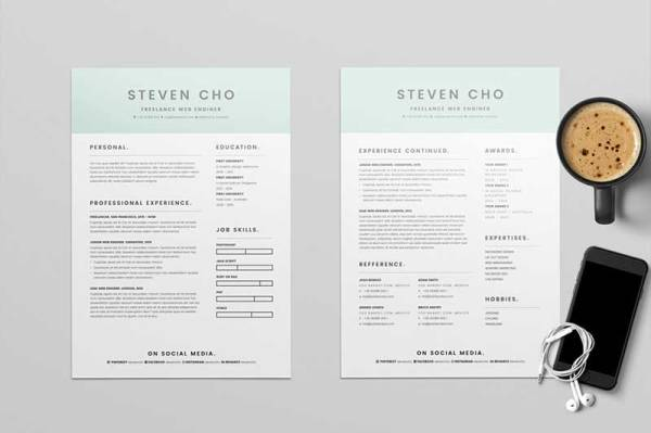 freelancer-resume-template