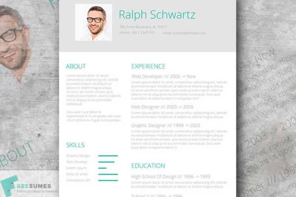 fresh-resume-design