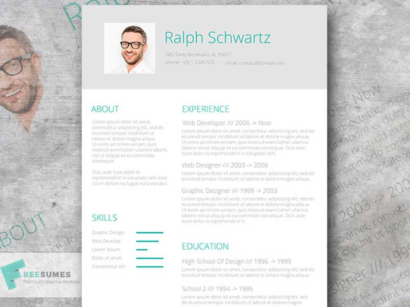 fresh-resume-design