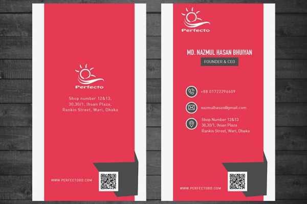free business card template ai