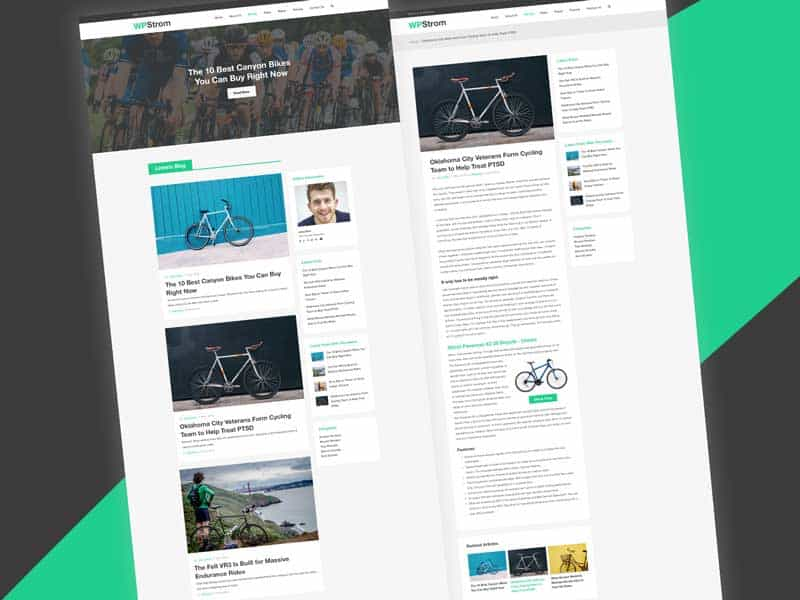 wpstrom-blog-template