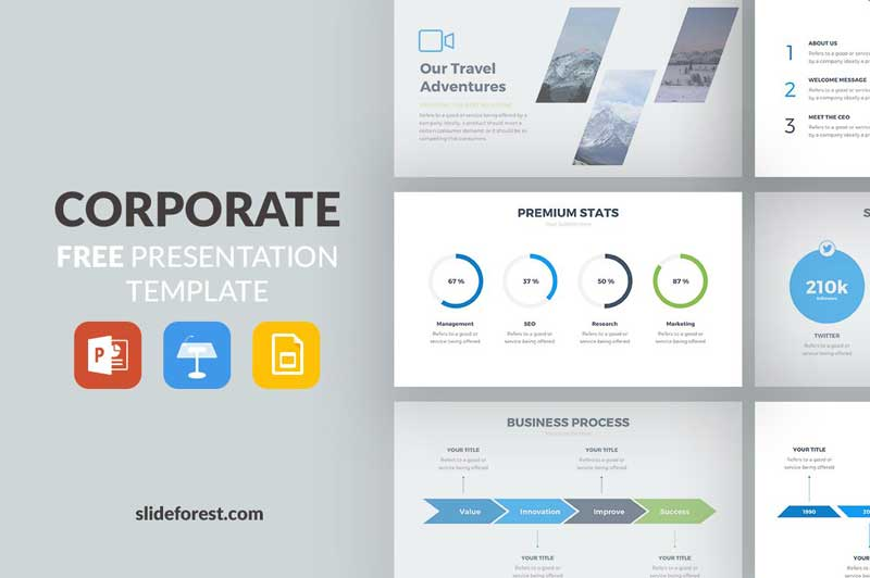 Corporate-Free-Presentation-Template