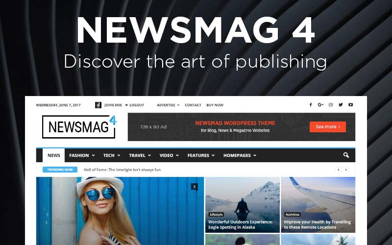 Newsmag-WordPress-Theme