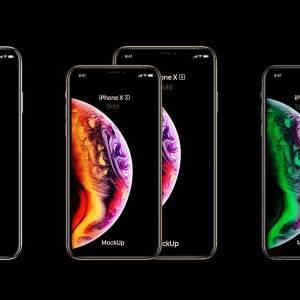 Psd iPhone XS Max Mockup