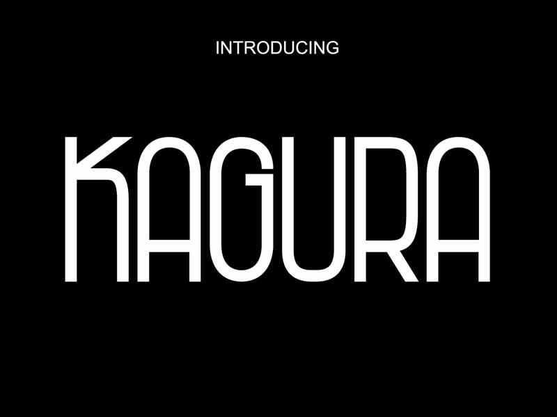 Kagura Font Family