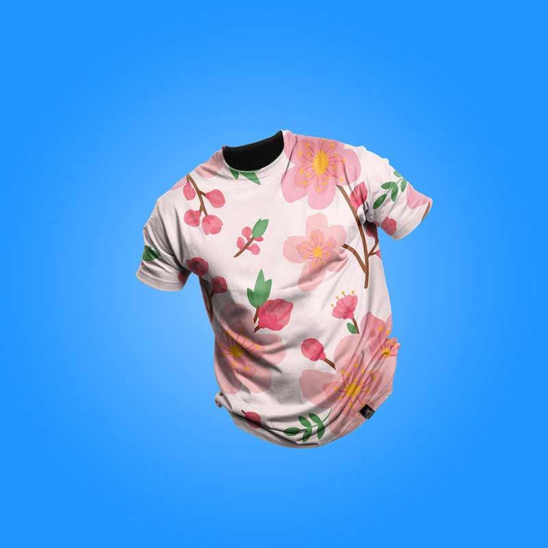 Free-Clean-T-shirt-Mockup