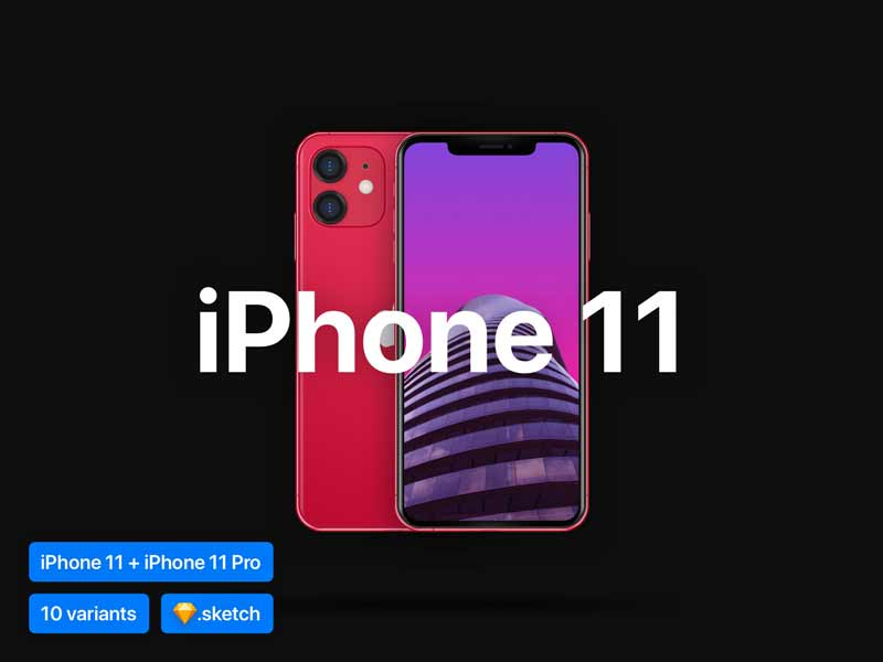 iphone 11 mockup psd