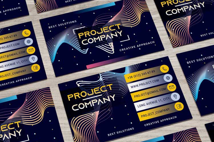 Free Corporate Company Business Card