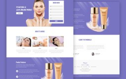 beauty-skincare-landing-page-psd