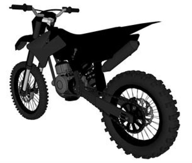 Purchase A 3d Model Of Kawasaki Kx 250 Stealth Dirt Bike That Was Drawn In Scale Using Computer Drawing Software And Hardware You Will Receive A Download