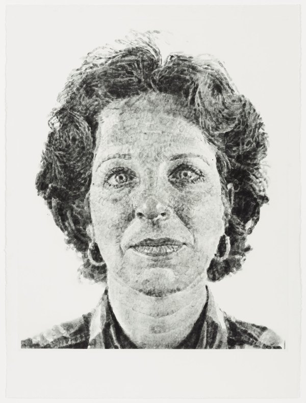 Chuck Close Fingerprint Portraits