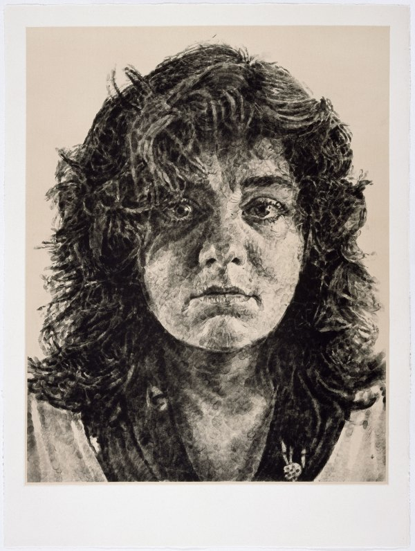 Leslie Chuck Close Fingerprints