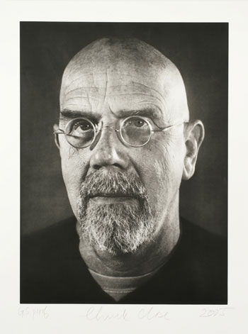Chuck Close  Artists  USF Graphicstudio  Institute for Research in Art
