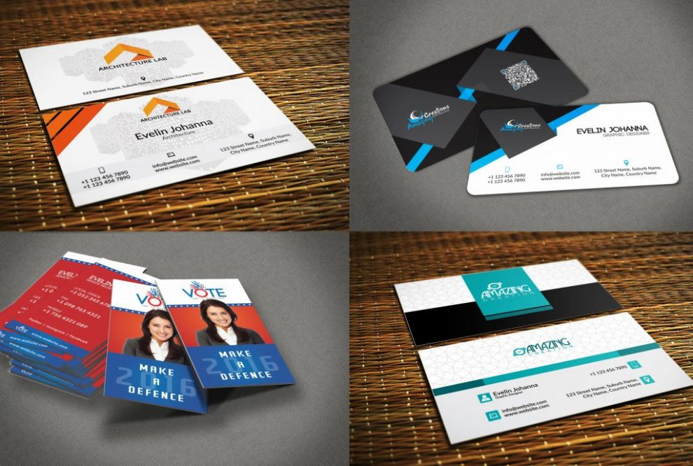 Make the stylish and professional business card in fiverr ...