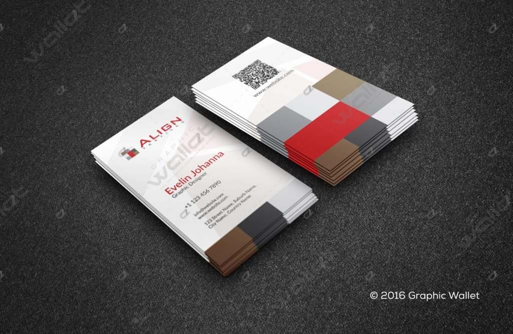 ALIGN TEXTILE - BUSINESS CARD   Graphic Wallet