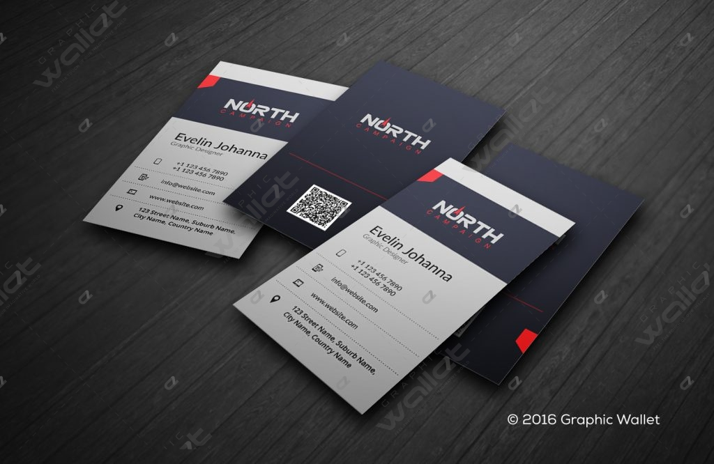 North Campaign - Business Card | Graphic Wallet