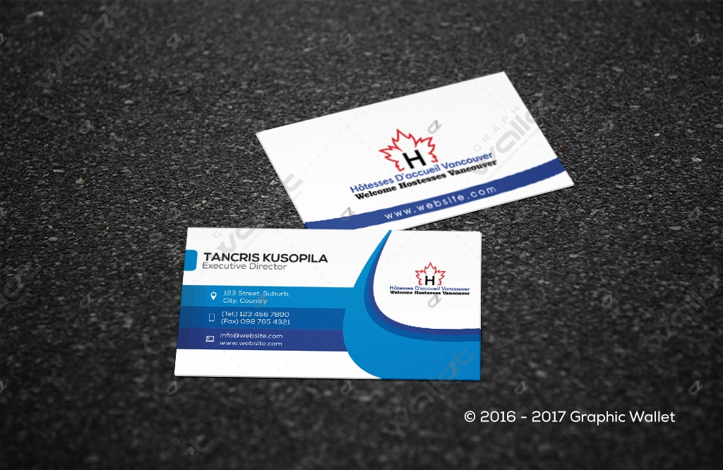 Vancouver business card graphic wallet vancouver business card reheart Image collections