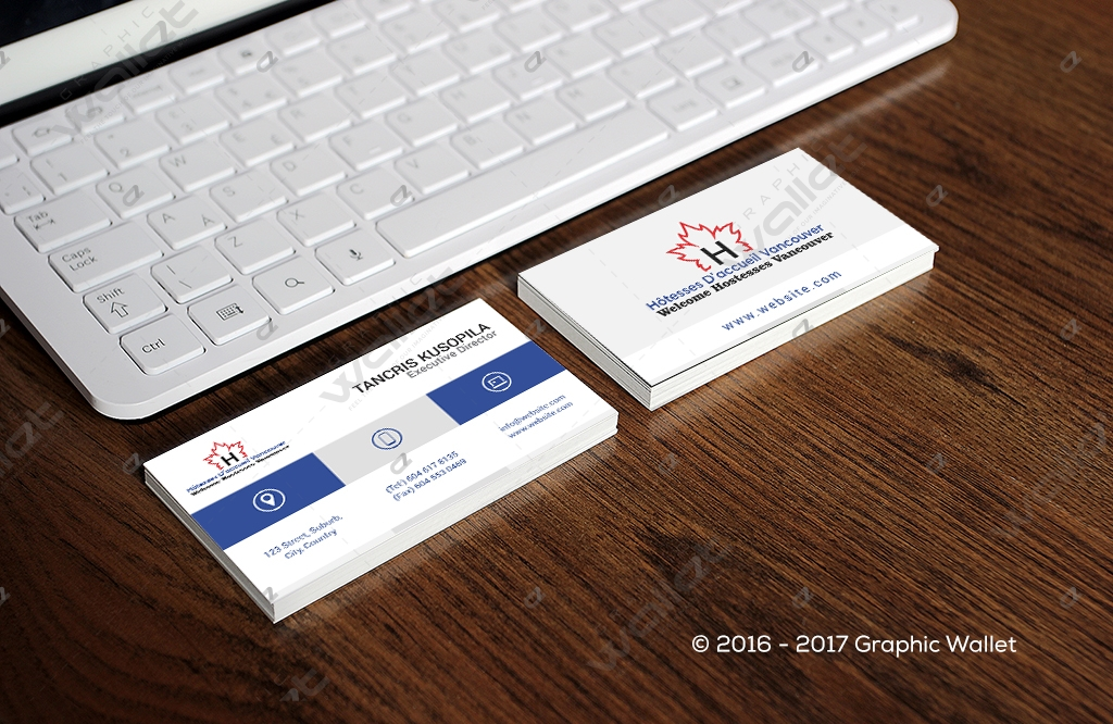 Vancouver - Business Card | Graphic Wallet