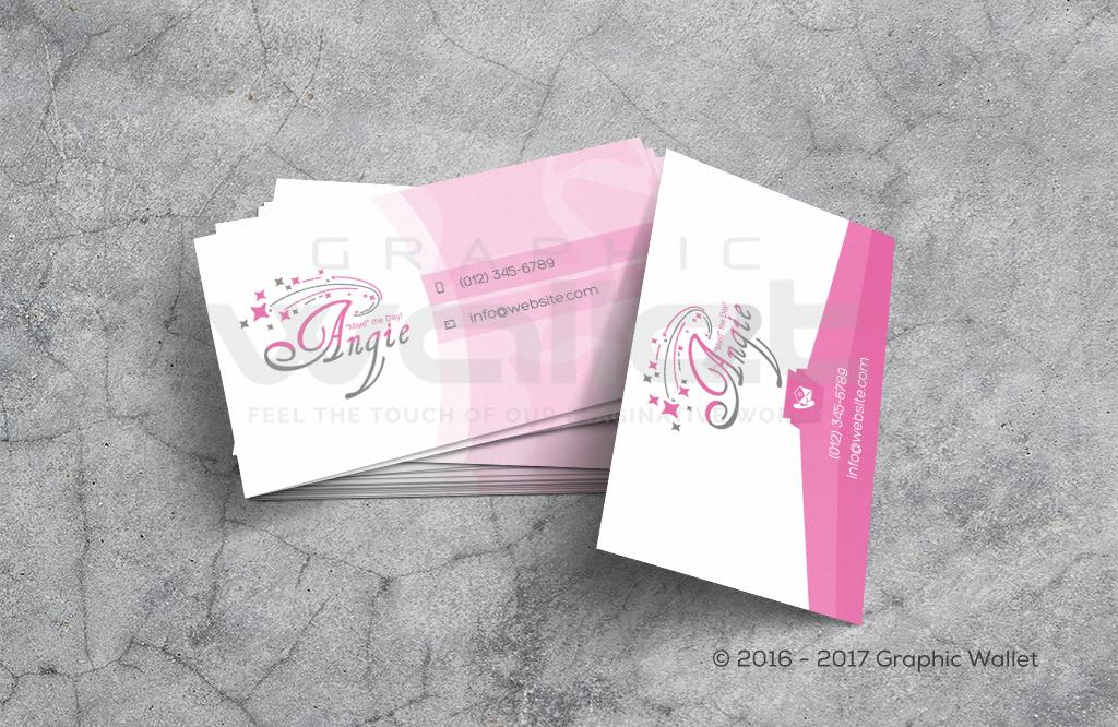 Angie Maid - Business Card | Graphic Wallet