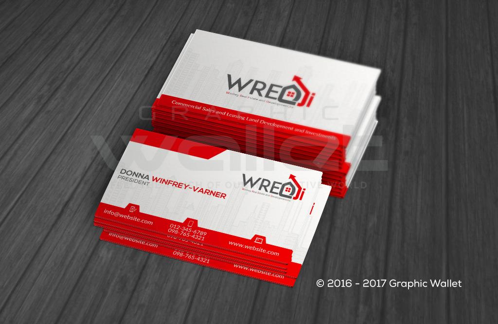 Wredi business card graphic wallet wredi business card reheart Image collections