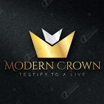 3D Logo Rough Mockup – Modern Crown