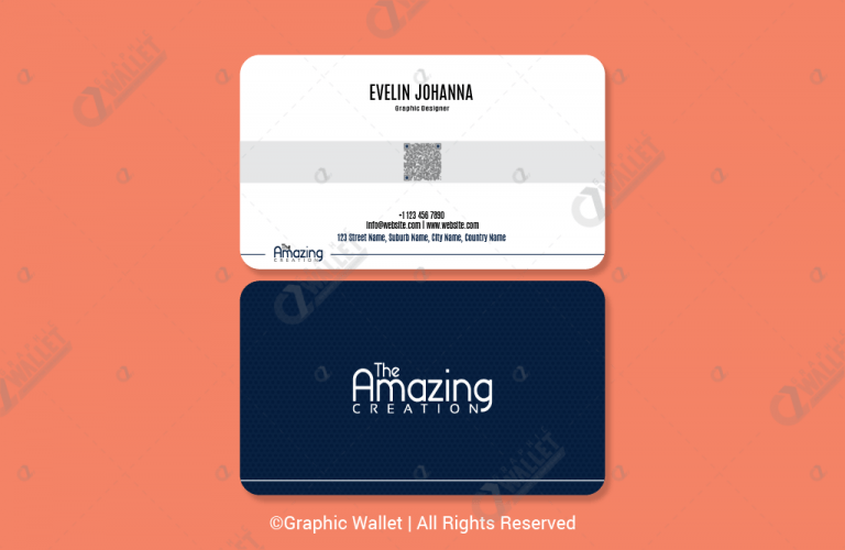 The amazing creation rounded premium business card graphic wallet the amazing creation rounded premium business card2 colourmoves Choice Image