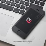 iPhone 5 with Macbook App Icon Mockup – NationNet