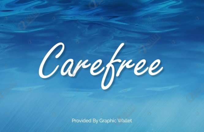 Carefree Font