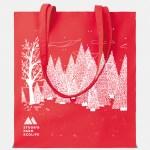 shopper cottonel rosso