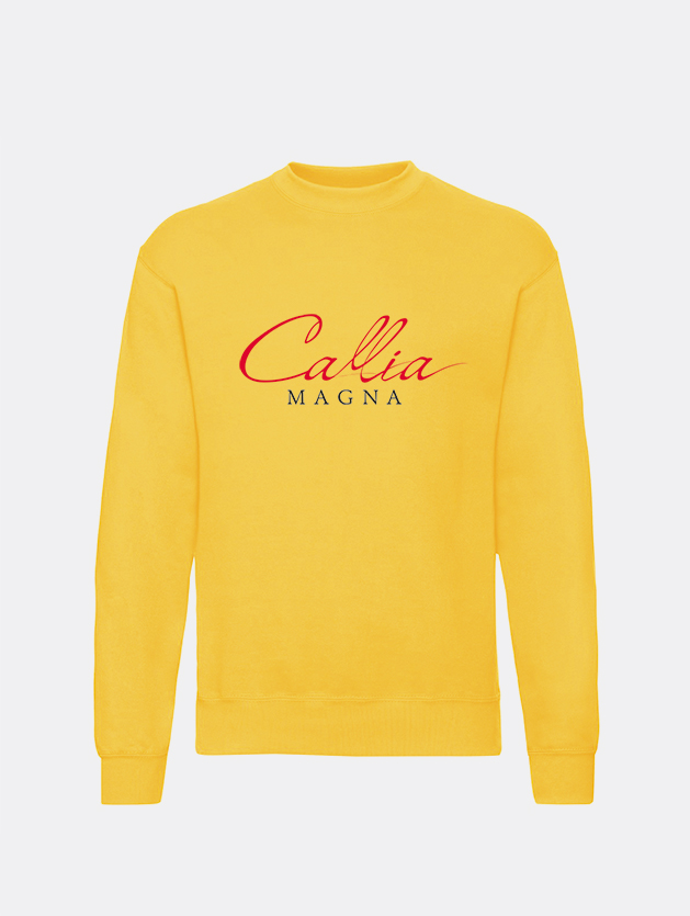 felpa classic gialla graphid promotion