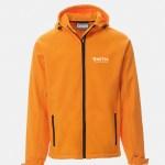 giacchetto softshell gale arancio