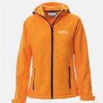 giacchetto softshell gale donna arancio